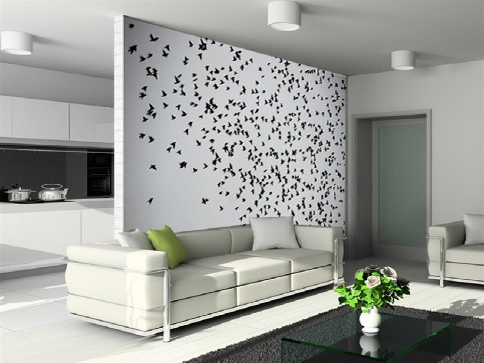 Iata cum poti sa iti decorezi peretii super ieftin 6 idei for Calcomanias para decorar habitaciones