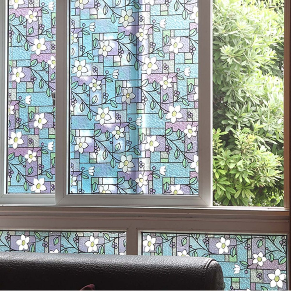 Sunt la moda ferestrele pictate inspira te - Pellicole adesive per porte ...